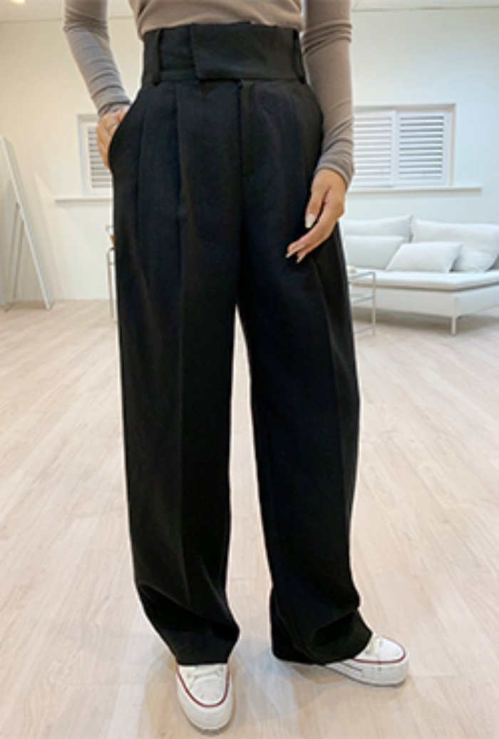 (2차/당일배송) For Celebrity Wide Pants